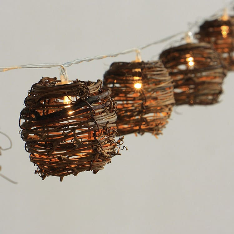 Corrugated Pre-Painted Steel Plate Umbrella String Lights -